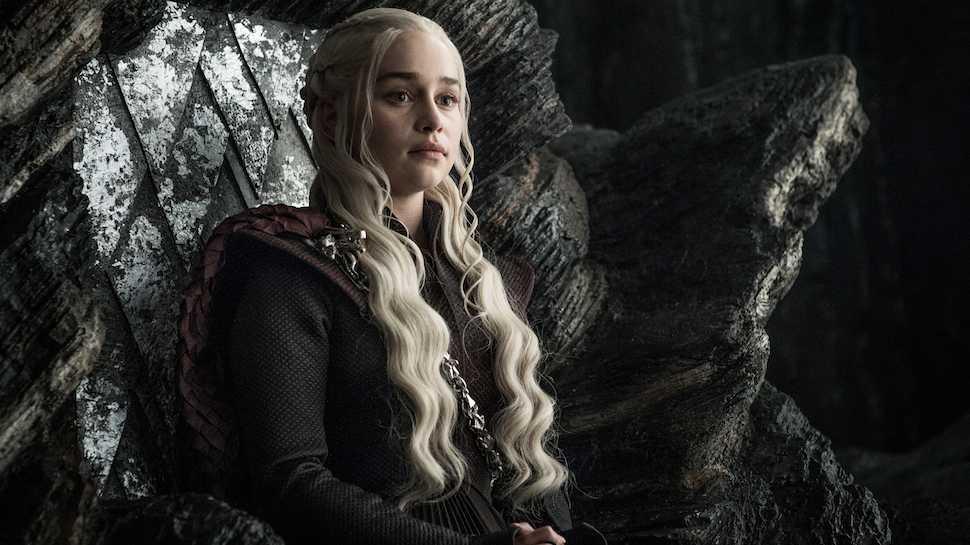 Daenerys sul trono (nonn di spade)