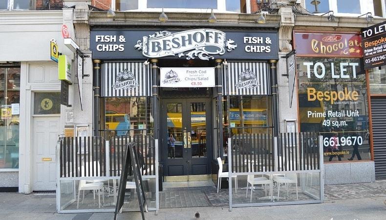 fish and chips a dublino irlanda dublin
