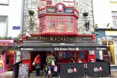 the kings head pub galway
