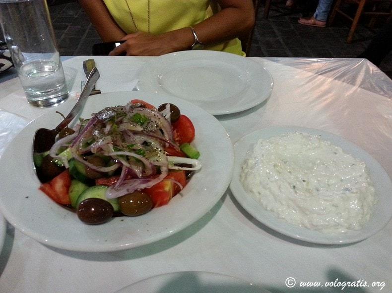tzatzigi piatti tipici greci
