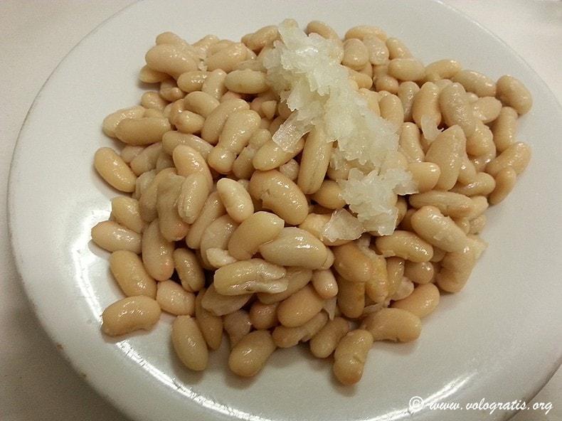 fagioli con cipolla dar filettaro a santa barbara roma