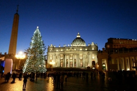natale a roma video