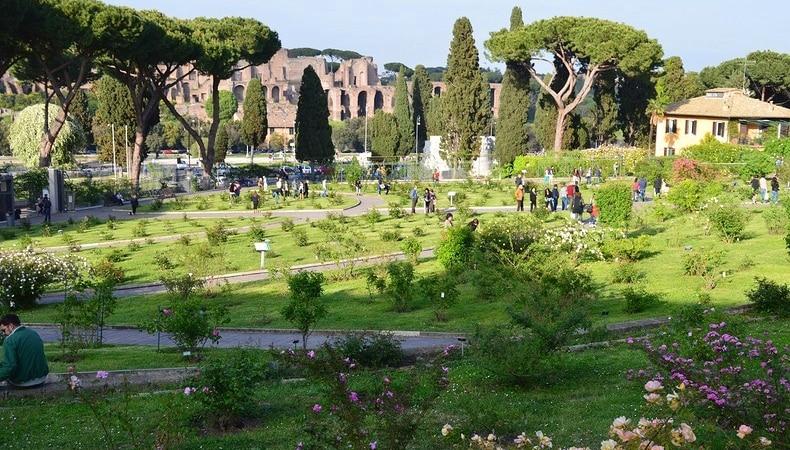 roseto comunale di roma