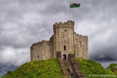 castello a Cardiff