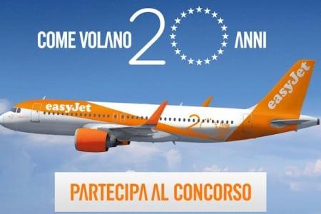 concorso easyjet inostri20anni
