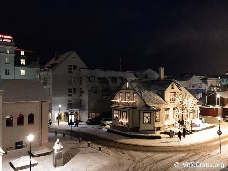 foto islanda natale a reykjavik