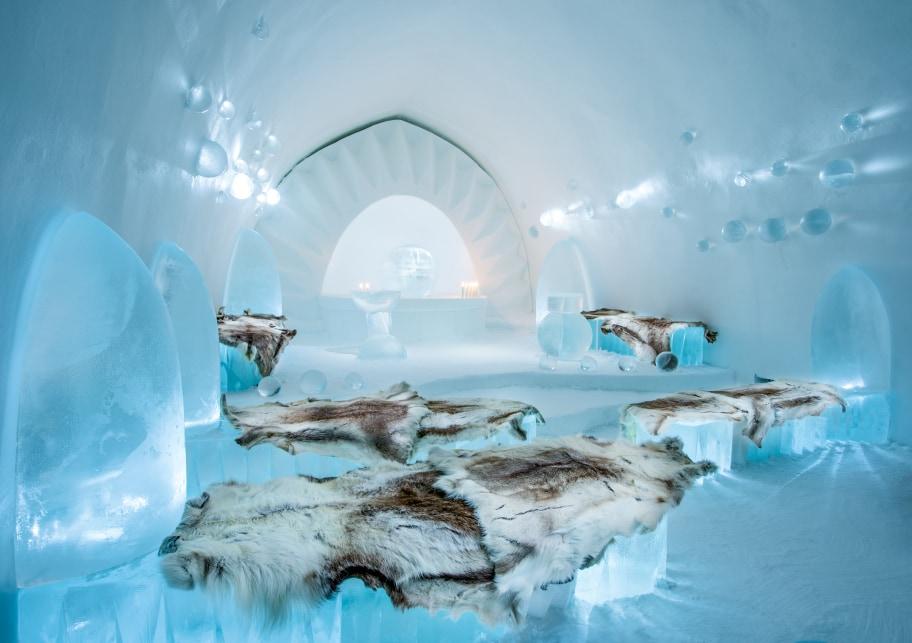 hotel di ghiaccio icehotel cappella matrimoni