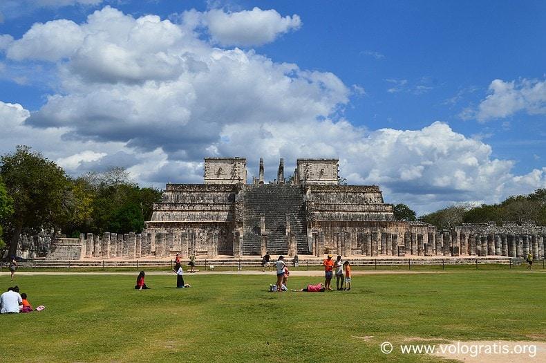 diario di viaggio yucatan chichen itza tempio dei guerrieri