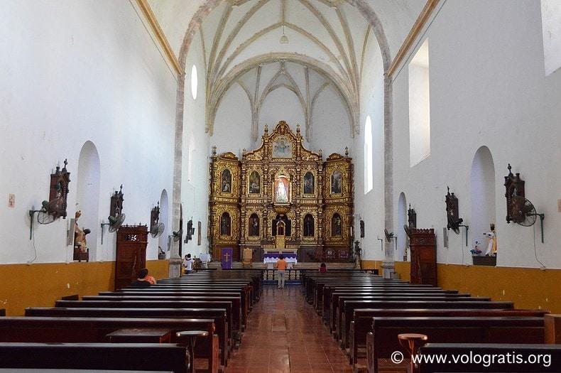 diario di viaggio yucatan chiesa convento izamal