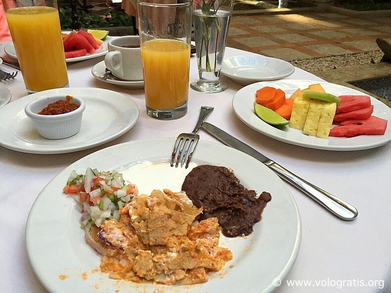 diario di viaggio yucatan colazione casa del balam
