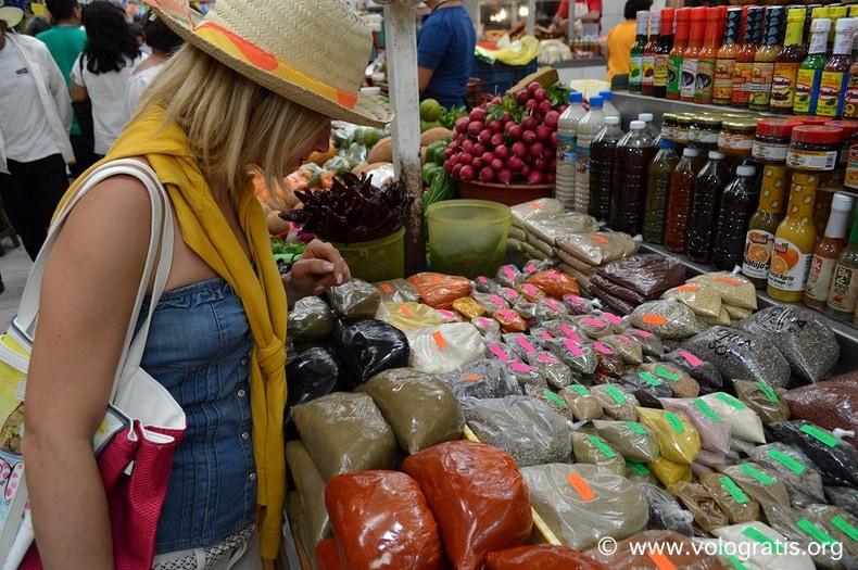 diario di viaggio yucatan messico mercato merida 5