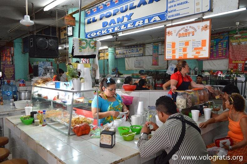diario di viaggio yucatan messico mercato merida