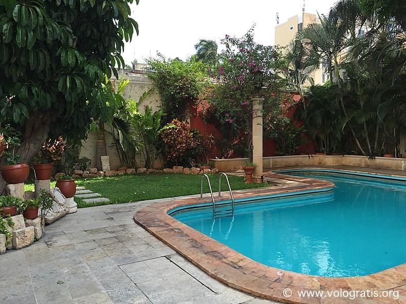 diario di viaggio yucatan piscina casa del balam merida