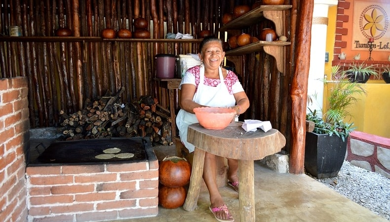diario di viaggio yucatan tortillas izamal