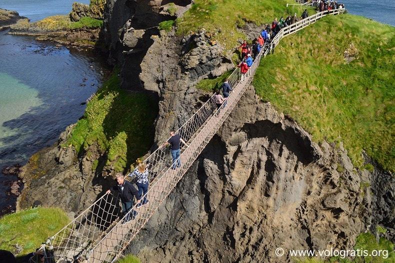 foto irlanda del nord ponte