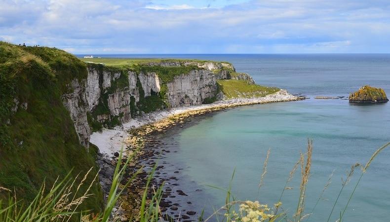 foto irlanda del nord scogliere