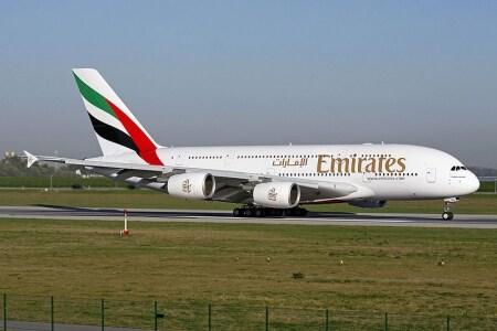 esperienza di volo su a380 emirates
