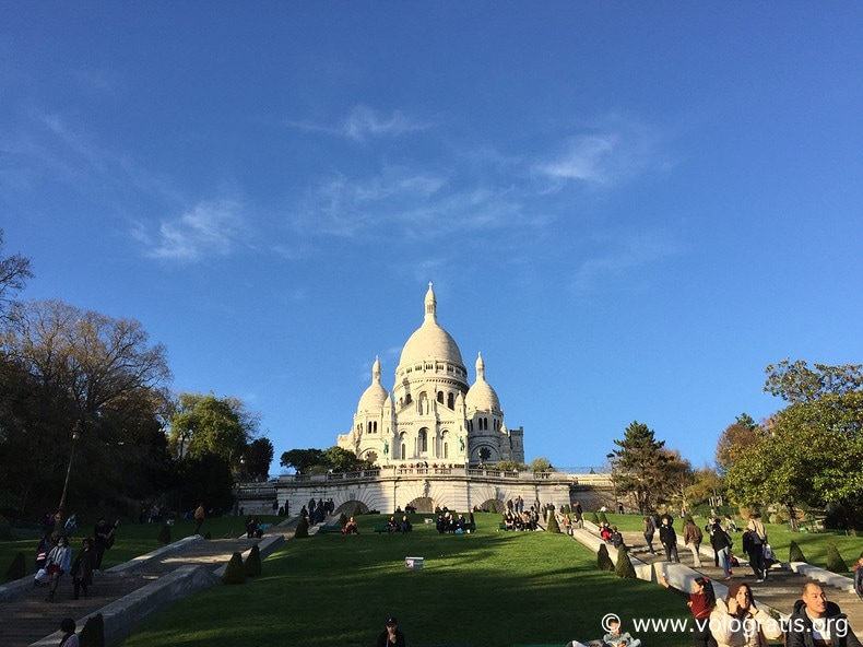 foto parigi basilica sacro cuore