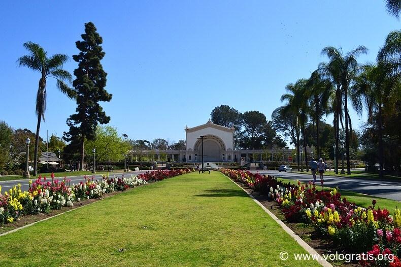 foto san diego balboa park