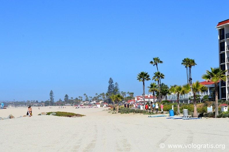 foto san diego spiaggia coronado