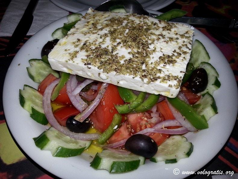 foto atene insalata greca