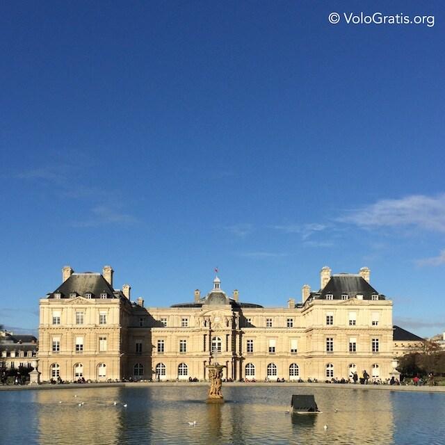 foto parigi palazzo lussemburgo