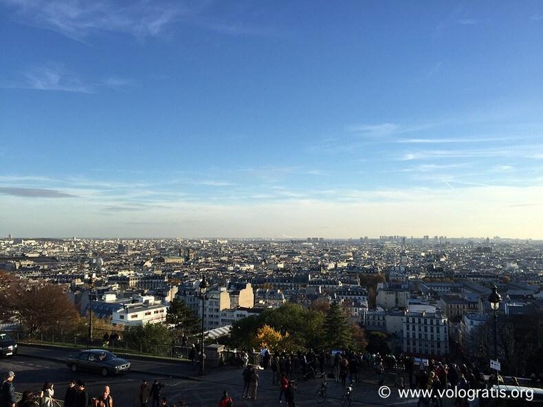 foto parigi panorama