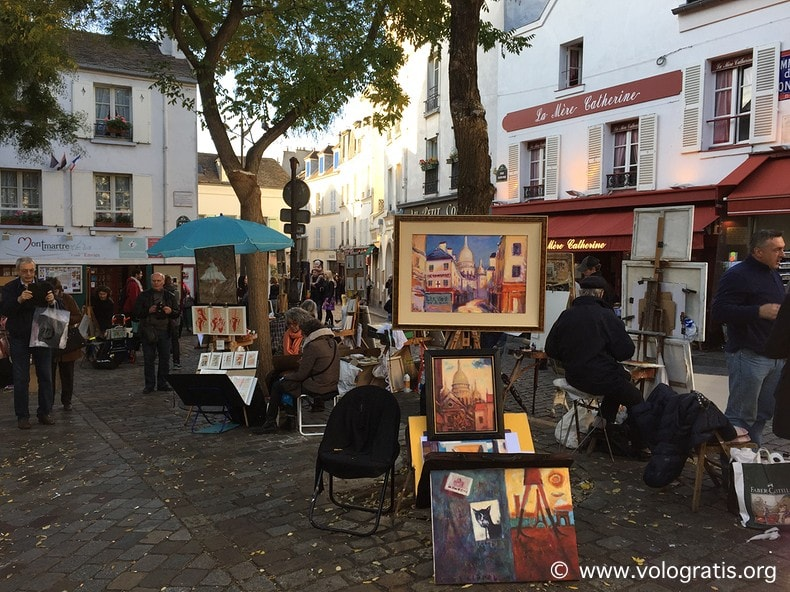 foto parigi montmartre