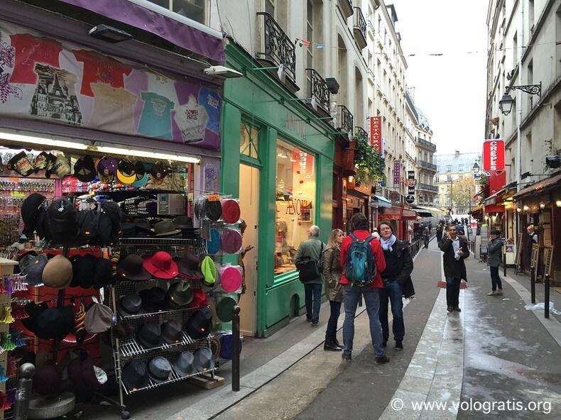 foto parigi quartier latin