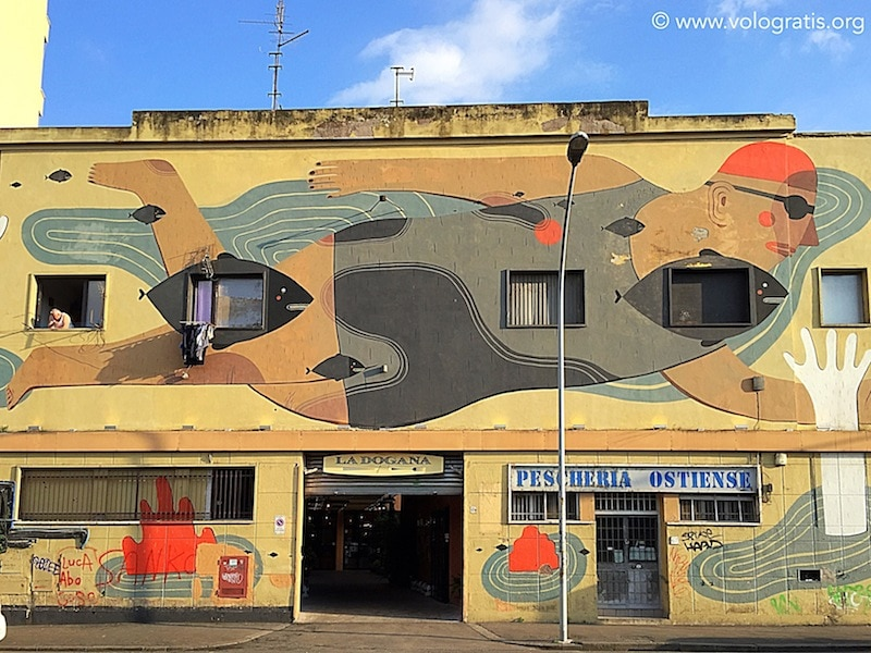 street art ostiense pescheria