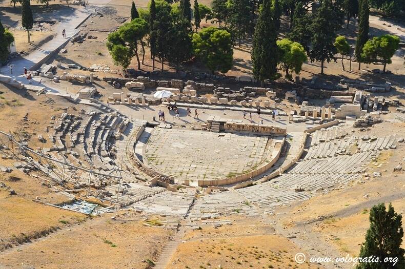 foto atene teatro dioniso