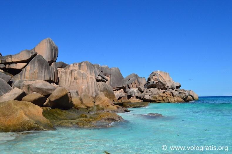 foto seychelles rocce granitiche