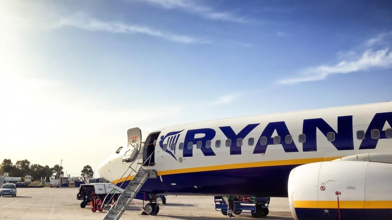 Volare con Ryanair con bambini