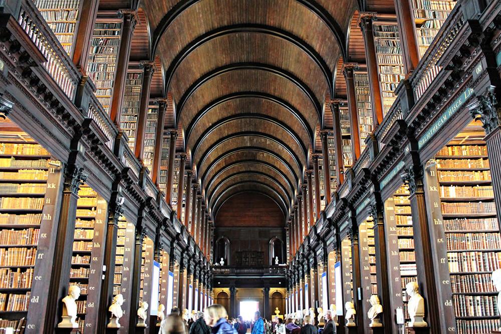 Dublino letteraria - Long room