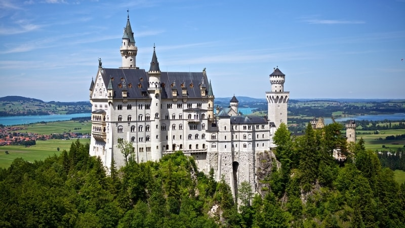 castelli della Baviera