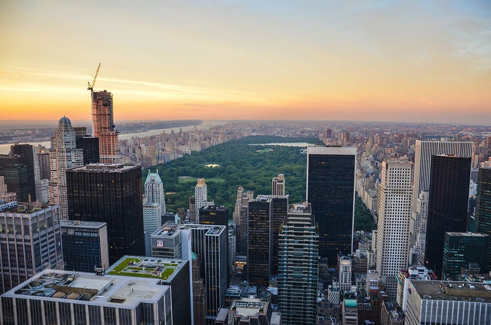 Dove ammirare il panorama di New York - Top of the Rock