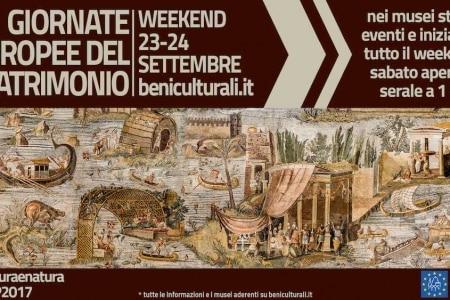 musei 1 euro giornate europee patrimonio 2017