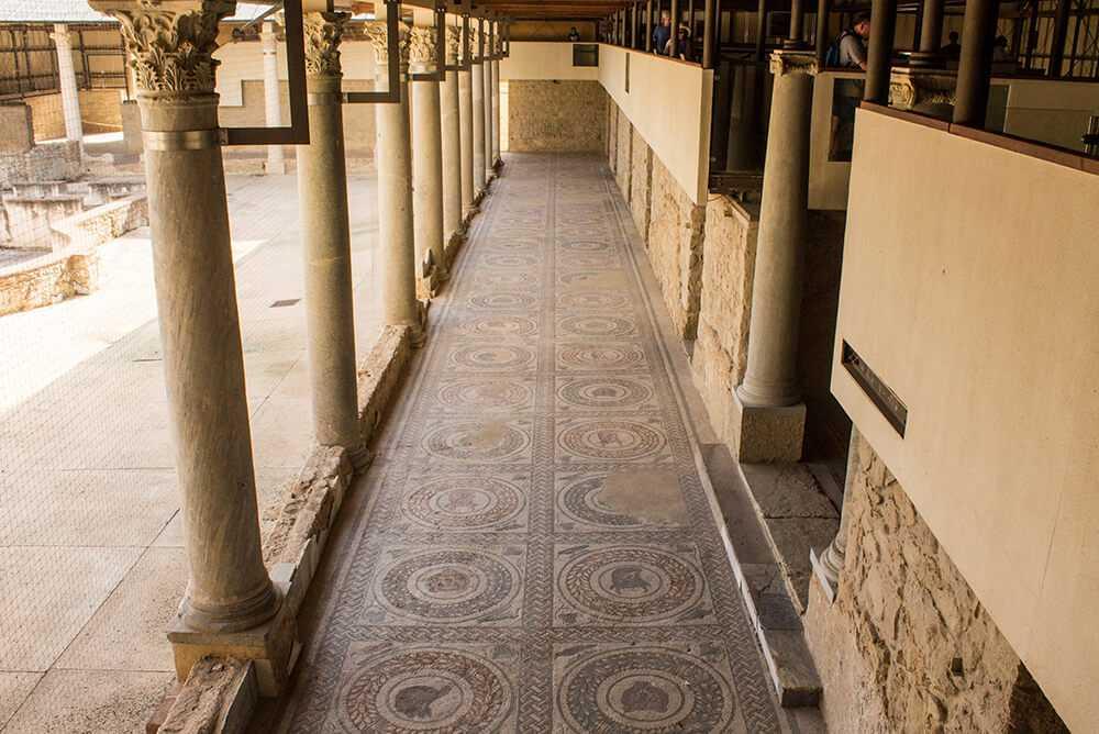 Siti patrimonio UNESCO in Sicilia - Villa romana del casale