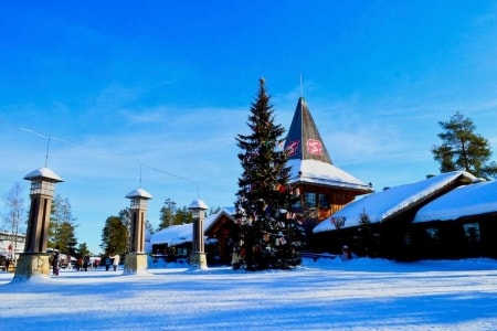 villaggio babbo natale rovaniemi