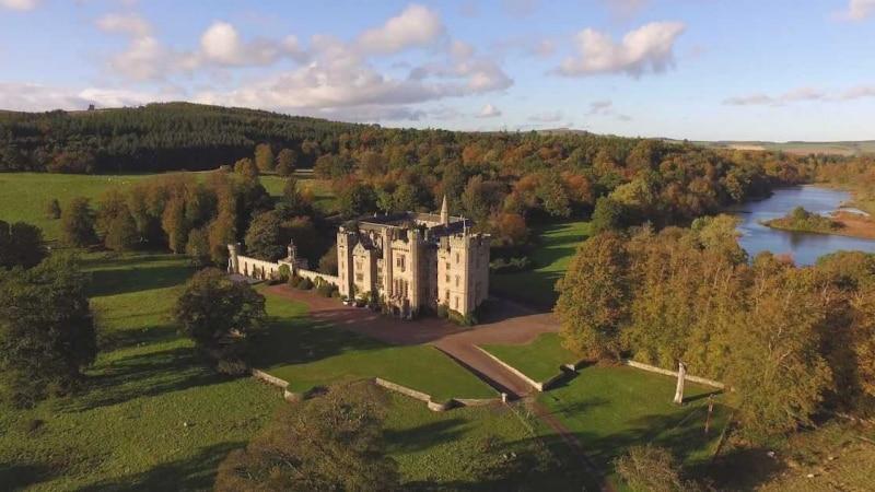 castelli in scozia in cui alloggiare