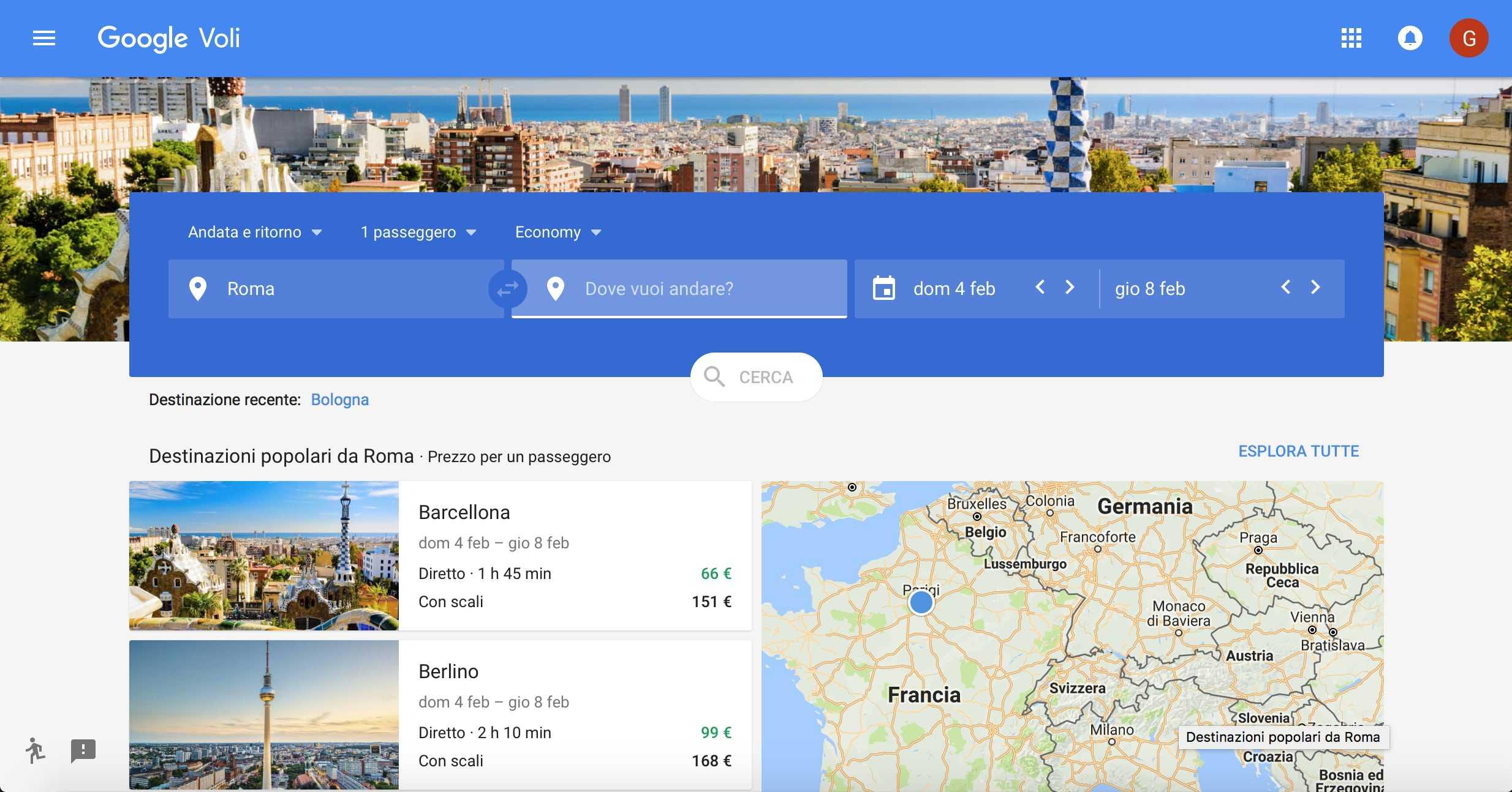 Google Flights, come funziona: trucchi per trovare voli low cost