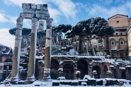 neve roma 2018
