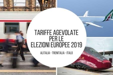 sconti elezioni europee treni aerei