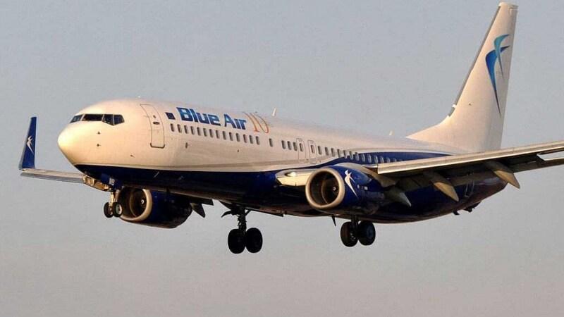 blue air bagaglio a mano