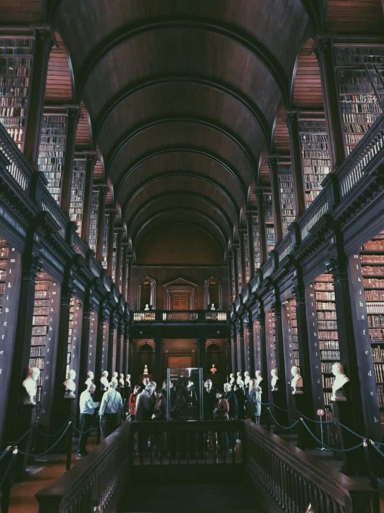 cosa vedere dublino old library