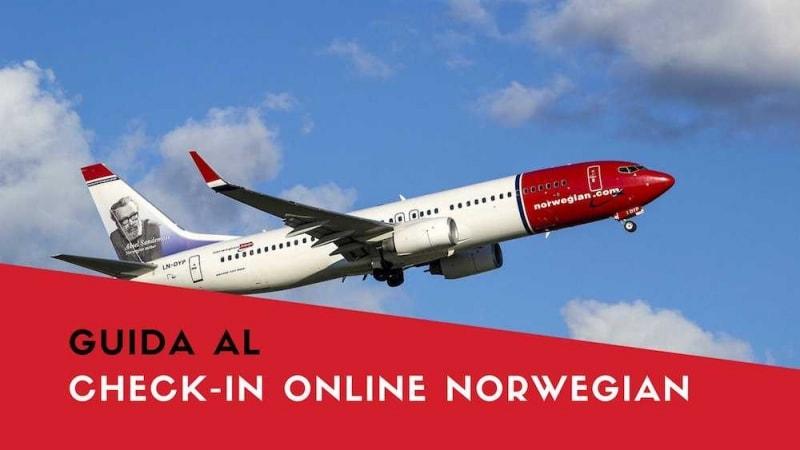 norwegian check-in online