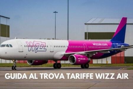 trova tariffe wizz air