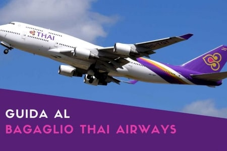 thai airways bagaglio