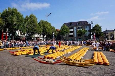 mercato formaggio alkmaar