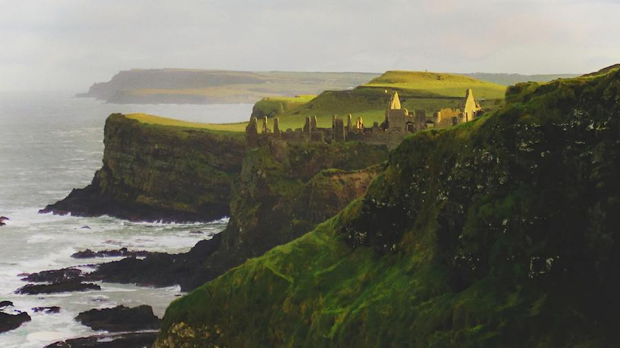 dunluce castle irlanda del nord